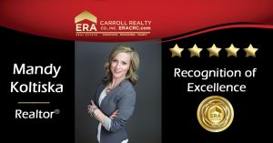 Another happy client says they couldn't ask for a better agent with Mandy Koltiska